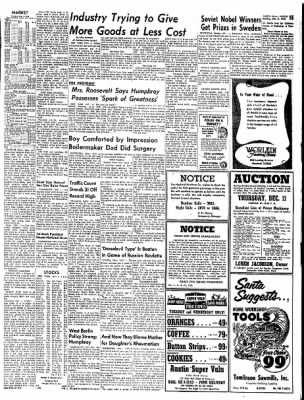 The Austin Daily Herald from Austin, Minnesota on December 8, 1958 · Page 15