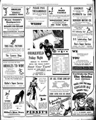 The Ludington Daily News from Ludington, Michigan on October 5, 1939 · Page 7