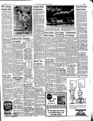 Ironwood Daily Globe from Ironwood, Michigan on July 20, 1965 · Page 21