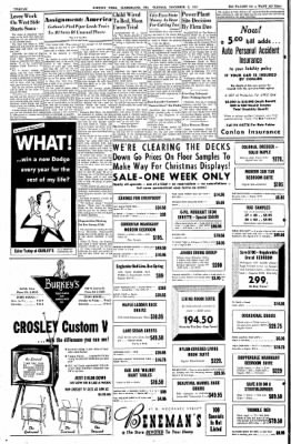 Cumberland Evening Times from Cumberland, Maryland on November 1, 1955 · Page 11