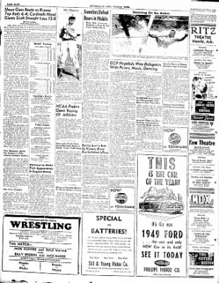The Courier News from Blytheville, Arkansas on June 19, 1948 · Page 8