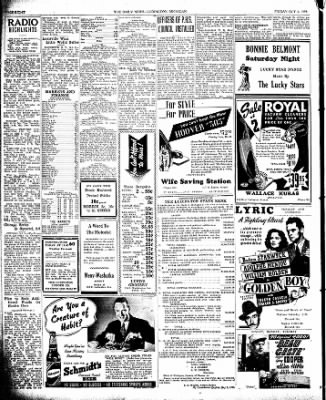 The Ludington Daily News from Ludington, Michigan on October 6, 1939 · Page 8
