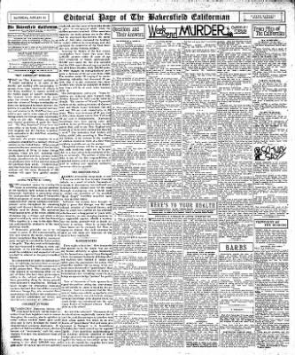 The Bakersfield Californian from Bakersfield, California on January 14, 1933 · Page 14
