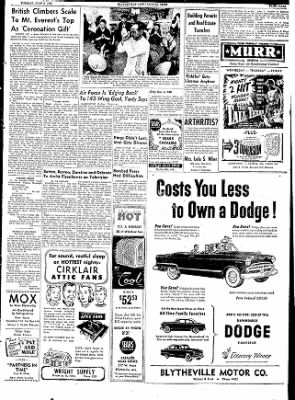 The Courier News from Blytheville, Arkansas on June 2, 1953 · Page 2