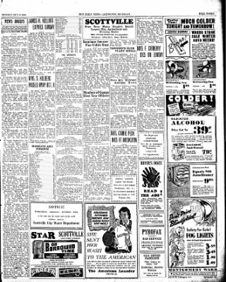 The Ludington Daily News from Ludington, Michigan on October 9, 1939 · Page 3