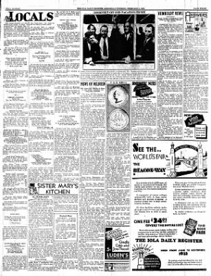 Iola Daily Register And Evening News from Iola, Kansas on February 8, 1933 · Page 3