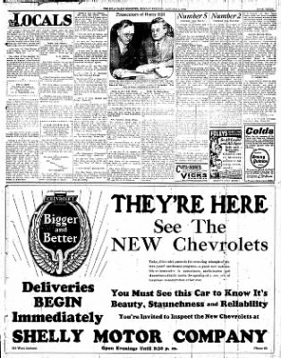 Iola Daily Register And Evening News from Iola, Kansas on January 2, 1928 · Page 3