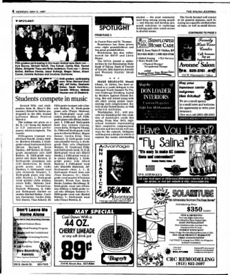 The Salina Journal from Salina, Kansas on May 5, 1997 · Page 18