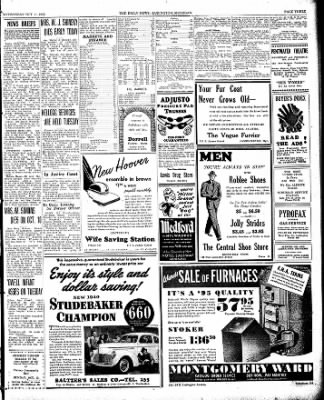 The Ludington Daily News from Ludington, Michigan on October 11, 1939 · Page 3