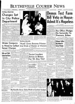 The Courier News from Blytheville, Arkansas on April 18, 1956 · Page 1