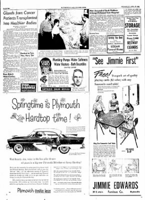 The Courier News from Blytheville, Arkansas on April 18, 1956 · Page 2