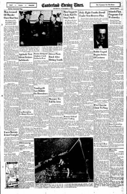 Cumberland Evening Times from Cumberland, Maryland on November 3, 1955 · Page 15