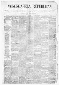 Sample Monongahela Valley Republican front page