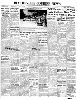 The Courier News from Blytheville, Arkansas on June 22, 1948 · Page 1