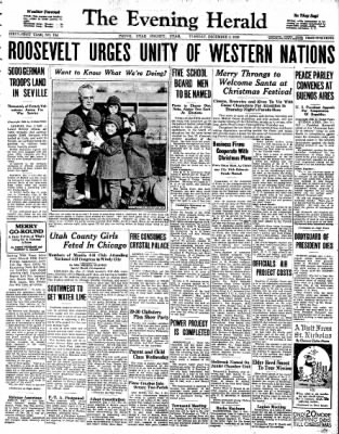 The Daily Herald from Provo, Utah on December 1, 1936 · Page 1