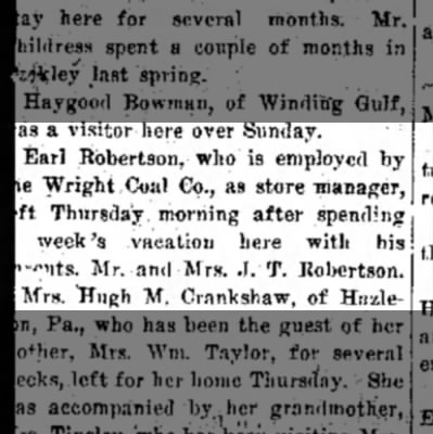 Raleigh Herald ECR At Wright 8 24 1917 -