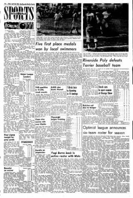 Redlands Daily Facts from Redlands, California on April 28, 1965 · Page 14