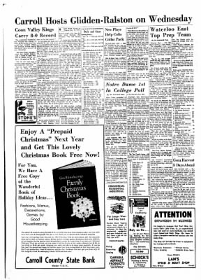Carrol Daily Times Herald from Carroll, Iowa on November 10, 1970 · Page 6