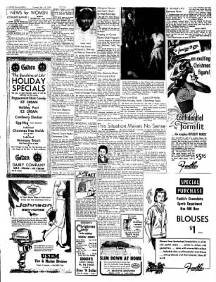The Austin Daily Herald from Austin, Minnesota on December 15, 1958 · Page 6