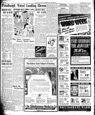The Ludington Daily News from Ludington, Michigan on October 17, 1939 · Page 6