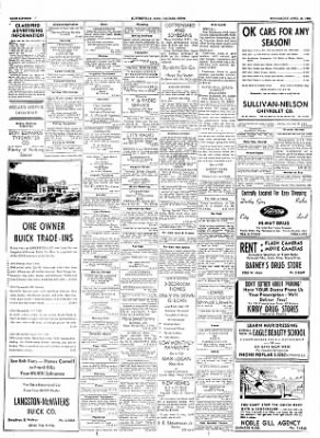 The Courier News from Blytheville, Arkansas on April 18, 1956 · Page 16