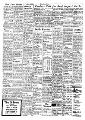 Carrol Daily Times Herald from Carroll, Iowa on November 10, 1970 · Page 14