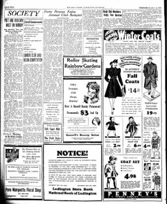 The Ludington Daily News from Ludington, Michigan on October 18, 1939 · Page 2