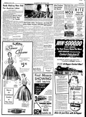 The Courier News from Blytheville, Arkansas on June 4, 1953 · Page 5