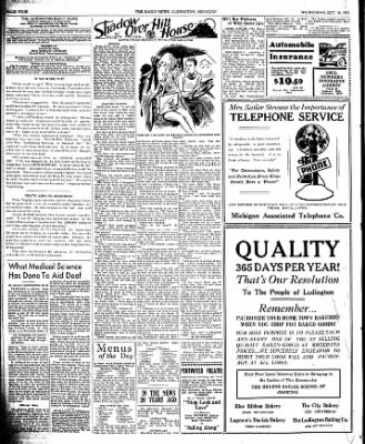 The Ludington Daily News from Ludington, Michigan on October 18, 1939 · Page 4