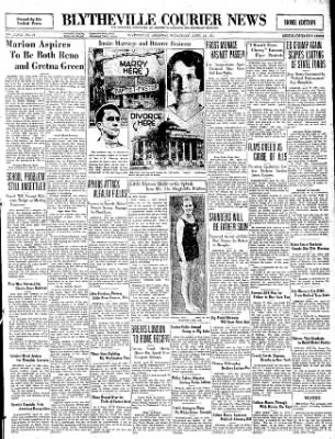 The Courier News from Blytheville, Arkansas on April 22, 1931 · Page 1