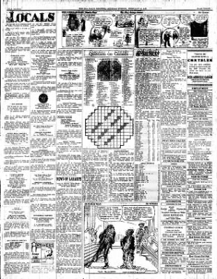 Iola Daily Register And Evening News from Iola, Kansas on February 18, 1933 · Page 3