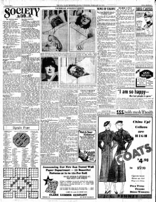 Iola Daily Register And Evening News from Iola, Kansas on February 20, 1933 · Page 2