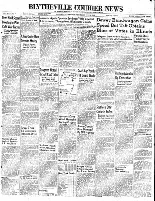 The Courier News from Blytheville, Arkansas on June 23, 1948 · Page 1
