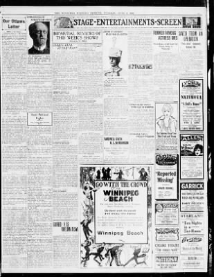 The Winnipeg Tribune from Winnipeg, Manitoba, Canada on June 6, 1922 · Page 15