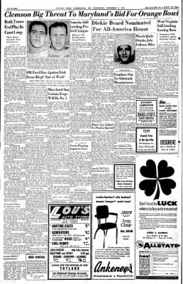 Cumberland Evening Times from Cumberland, Maryland on November 9, 1955 · Page 14