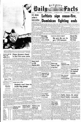 Redlands Daily Facts from Redlands, California on May 1, 1965 · Page 1