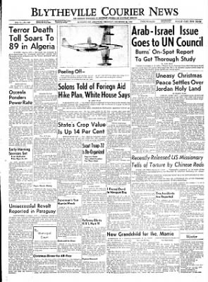 The Courier News from Blytheville, Arkansas on December 22, 1955 · Page 1