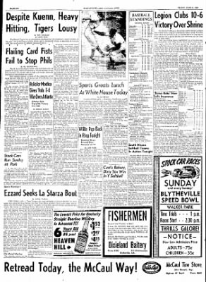 The Courier News from Blytheville, Arkansas on June 5, 1953 · Page 6