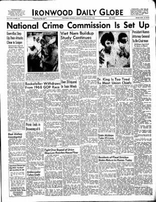 Ironwood Daily Globe from Ironwood, Michigan on July 26, 1965 · Page 11
