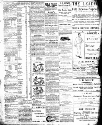 Interstate News-Record from Ironwood, Michigan on January 10, 1891 · Page 5