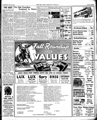 The Ludington Daily News from Ludington, Michigan on October 26, 1939 · Page 3