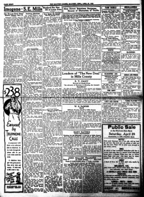 The Malvern Leader from Malvern, Iowa on April 27, 1933 · Page 8