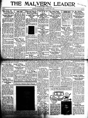 The Malvern Leader from Malvern, Iowa on May 4, 1933 · Page 1