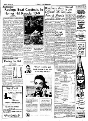 The Courier News from Blytheville, Arkansas on April 20, 1956 · Page 9