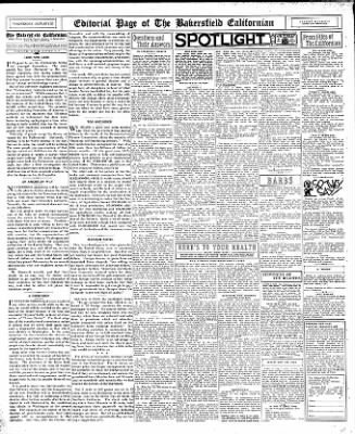 The Bakersfield Californian from Bakersfield, California on January 25, 1933 · Page 12