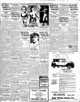 Iola Daily Register And Evening News from Iola, Kansas on January 23, 1928 · Page 6