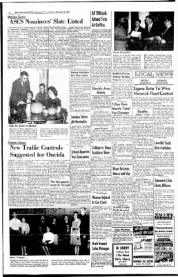 The Post-Standard from Syracuse, New York on November 2, 1963 · Page 21