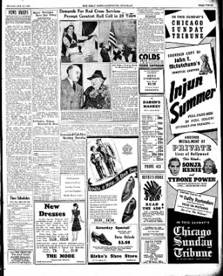 The Ludington Daily News from Ludington, Michigan on October 27, 1939 · Page 3