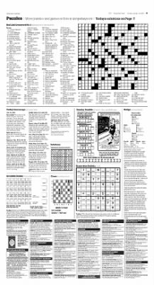 baylink crossword puzzle today