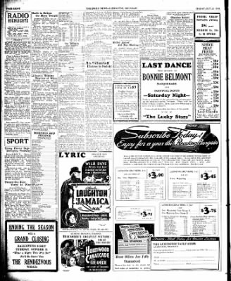 The Ludington Daily News from Ludington, Michigan on October 27, 1939 · Page 8